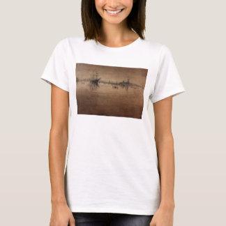 Nocturne by James Abbott McNeill Whistler T-Shirt
