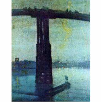Nocturne en azul y oro: Puente viejo de Battersea  Escultura Fotografica