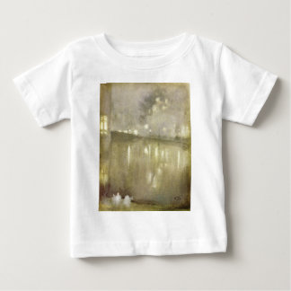 Nocturne Grey and Gold - Canal by James McNeill Baby T-Shirt
