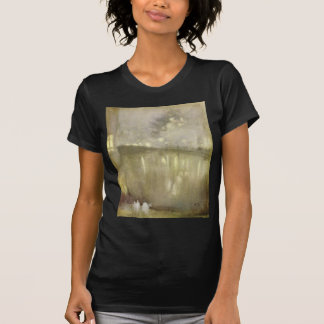 Nocturne Grey and Gold - Canal by James McNeill T-Shirt