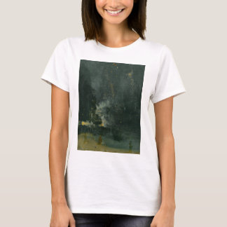 Nocturne in Black and Gold, the Falling Rocket T-Shirt