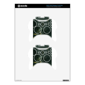 Nocturne in Black and Gold, the Falling Rocket Xbox 360 Controller Skin