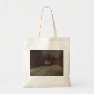 Nocturne in grey and gold by Whistler Tote Bag