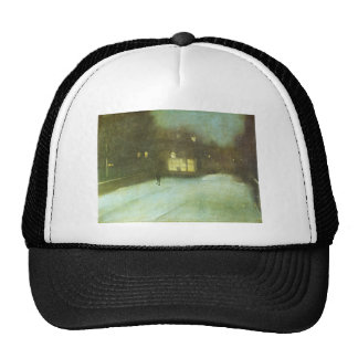 Nocturne in Grey and Gold: Chelsea Snow by James Trucker Hat