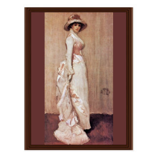 Nocturne In Pink And Gray Portrait Of Lady Meux By Postcards