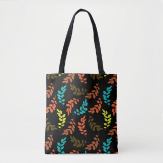 Nocturne of Leaves Tote Bag