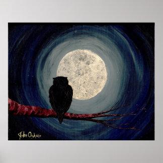 ~ NOCTURNO de los COMPAÑEROS (arte de la luna del Póster