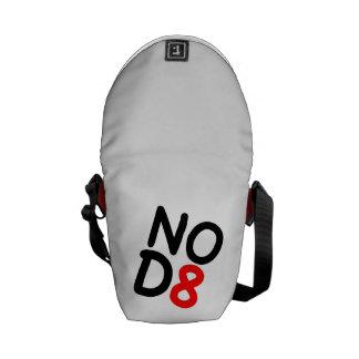 ¡NOD8 ningunas preocupaciones Bolsas De Mensajeria