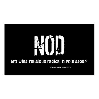 NOD, business cards
