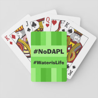 NoDAPL playing cards