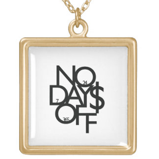 #NoDaysOff Tour Necklace