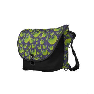 Nodding Greenhood Orchid Satchel Courier Bag