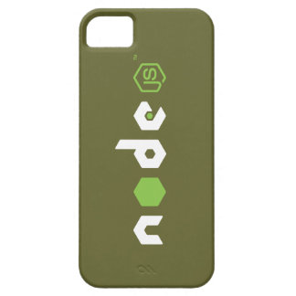 Node JS iPhone Case (Army Green) iPhone 5 Cases