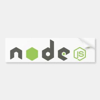 Node.js - Light Bumper Sticker