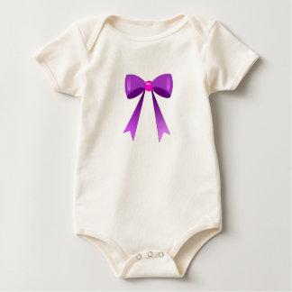 node purple baby bodysuit