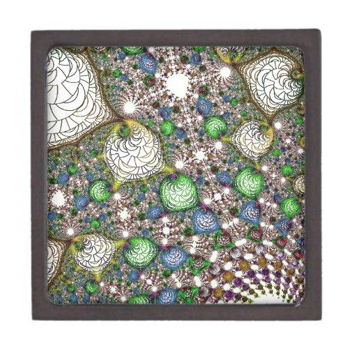 Nodos coloridos caja de joyas de calidad