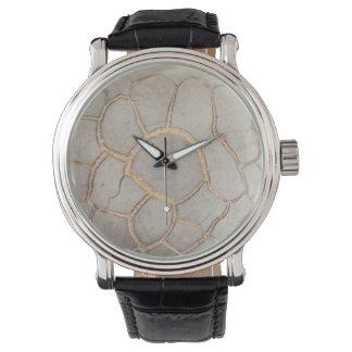 Nódulo calcáreo perfecto de Septarium Reloj