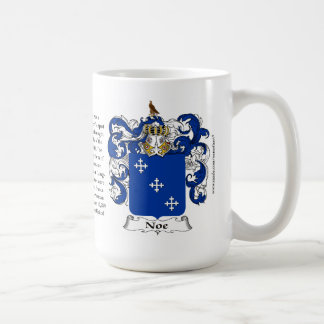 Noe, the Origin, the Meaning and the Crest Coffee Mug