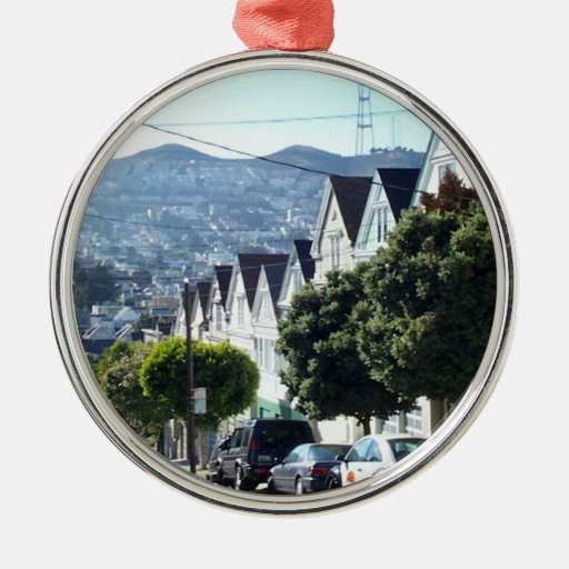 Noe Valley, San Francisco, CA Christmas Ornament