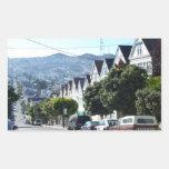 Noe Valley, San Francisco, CA Rectangular Stickers