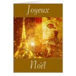 Noel a Paris collage Cards