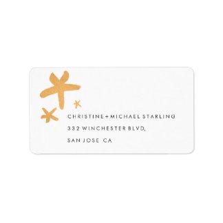Noel Address Label