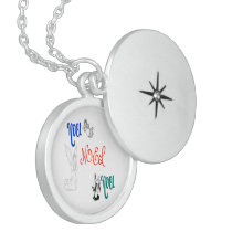 Noel and the Angels Locket Necklace