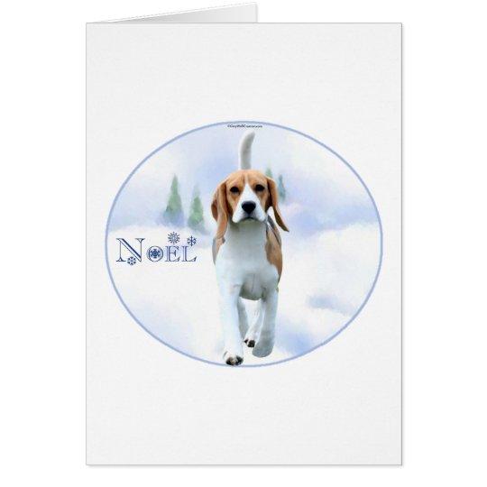 Noel Beagle Holiday Card