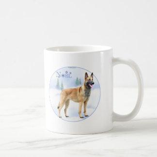 Noel Belgian Malinois Classic White Coffee Mug
