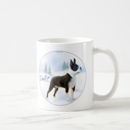 Noel Boston Terrier Mug