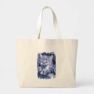 Noel Cat Handbag Canvas Bag