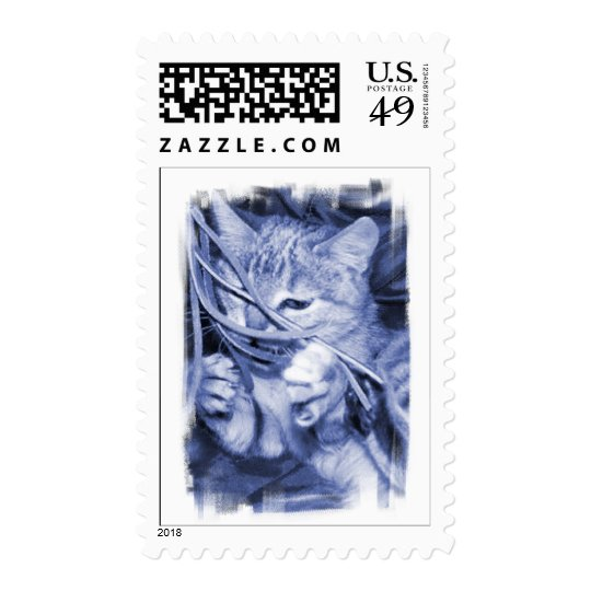 Noel Cat Postage