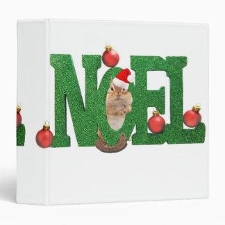 """Noel Chipmunk 1.5"""" Photo Album Binder"""