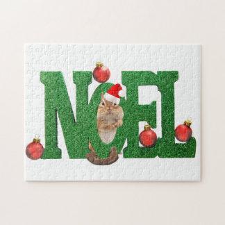 Noel Chipmunk Jigsaw Puzzle