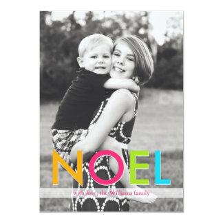 NOEL   Christmas Card Invite