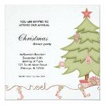 Noel Christmas Dinner Invitations