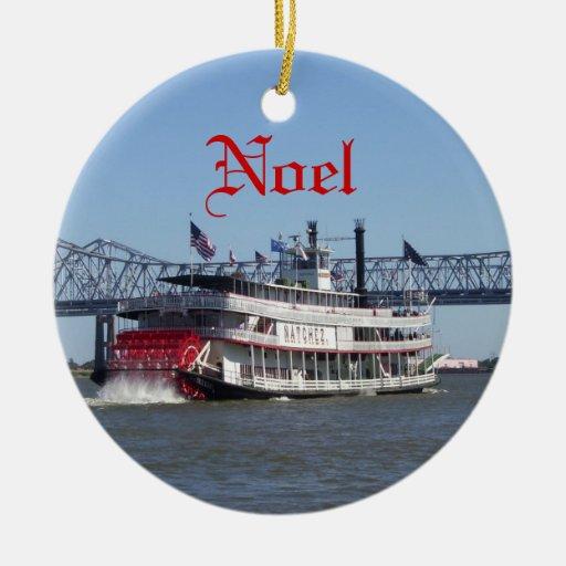 Noel Christmas Ornament