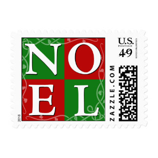 NOEL Christmas Stamp