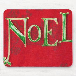 Noel Christmas table mat Mouse Pad
