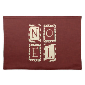 Noel Cloth Placemat