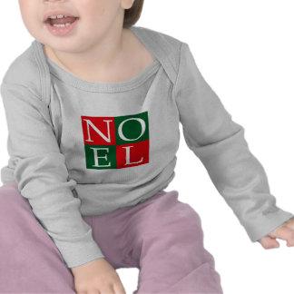 NOEL del navidad del arte pop Camisetas