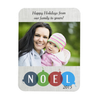 "Noel Holiday 3""x4"" Photo Magnet"
