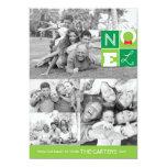 NOEL Holiday 5x7 Flat Card Custom Invitations
