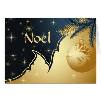 Noel Holiday Greeting Card