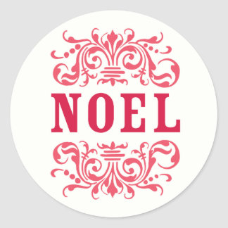 NOEL Holiday Stickers