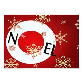 """Noel Invitación 5"""" X 7"""""""