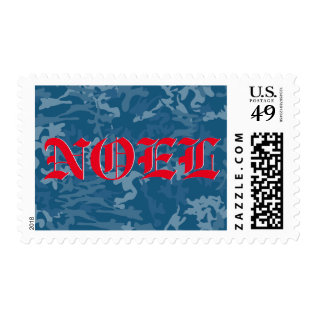 Noel Military Postage at Zazzle