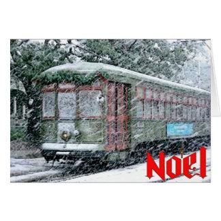 Noel New Orleans Streetcar Card