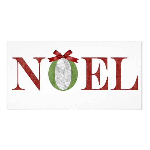 Noel Photo Greeting Photo Card