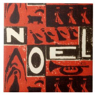 Noel Red Ceramic Tile